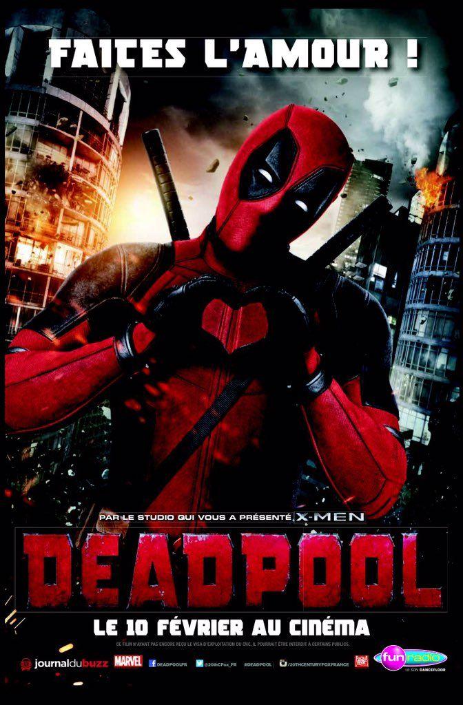 Ryan Reynolds on Ryan reynolds, Deadpool, Cinéma