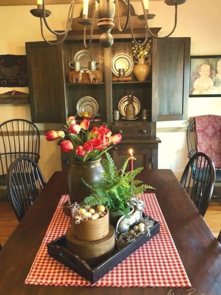 Dining Room Centerpieces Find Out How You Can Elevate Your Dining Room Table Decor Dining Room Table Centerpieces Primitive Dining Rooms Primitive Dining Room