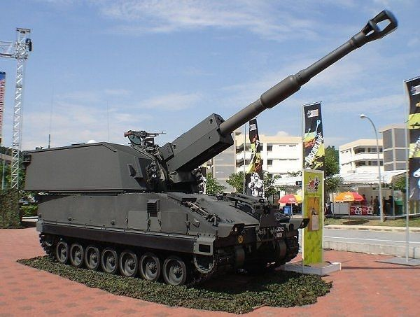 Primus 155mm 39 Calibre Self Propelled Howitzer - Army Technology