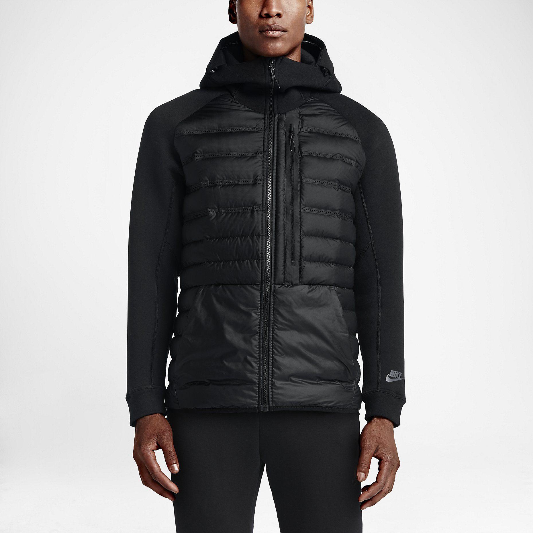 The Nike Tech Fleece Aeroloft Men's Jacket. Куртка