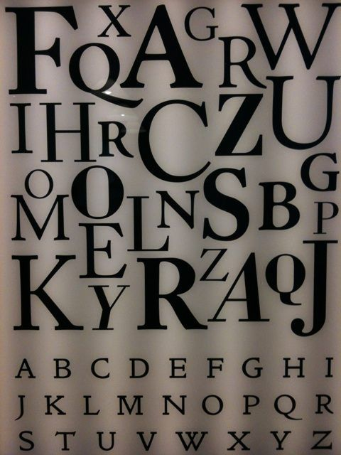 William Morris Alphabet