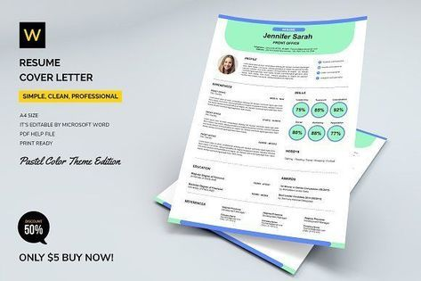 Resume Cover Letter (Pastel Colors) by Machruzah on Graphics Author | ✎ CvTemplates #dressrecipesthanksgiving Resume Cover Letter (Pastel Colors) by Machruzah on Graphics Author #cv #cvexample #template #example #cvtemplate #like #love #new  #Author #Colors #Cover #Graphics #Letter #Machruzah #Pastel #Resume #homedecor #quotes  #newyear #rezepte #happy #holiday #christmas #2018 #wedding #art #recipes #thanksgiving #outfits #photography #diy #decor #dresses #fashion #fitness #funny #jewelry #ke #