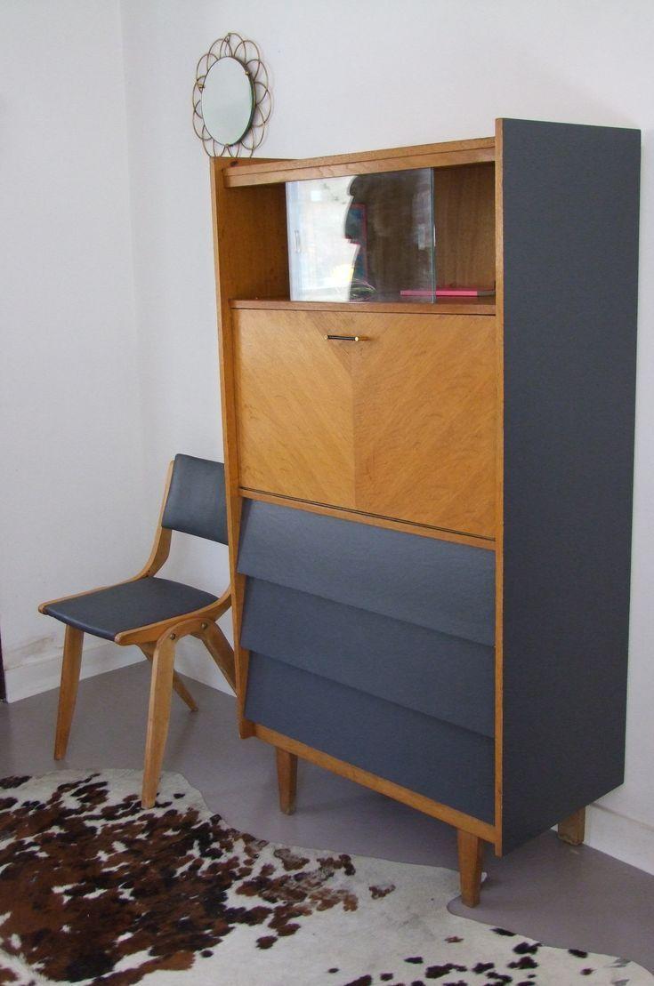 Secretaire vintage lord meubles vintage pataluna chin s d nich s et d lur s clairesiebert - Meubles chines ...