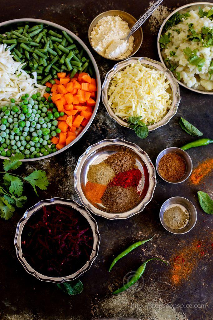 Veg Seekh Kabab Recipe | Recette et Épices