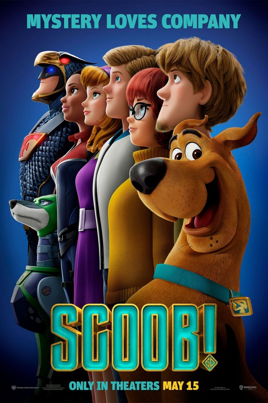Scoob New Poster And Images From The 2020 Movie About The Beginning Of Scooby Doo Story Scooby Doo 2020 Movies Scooby