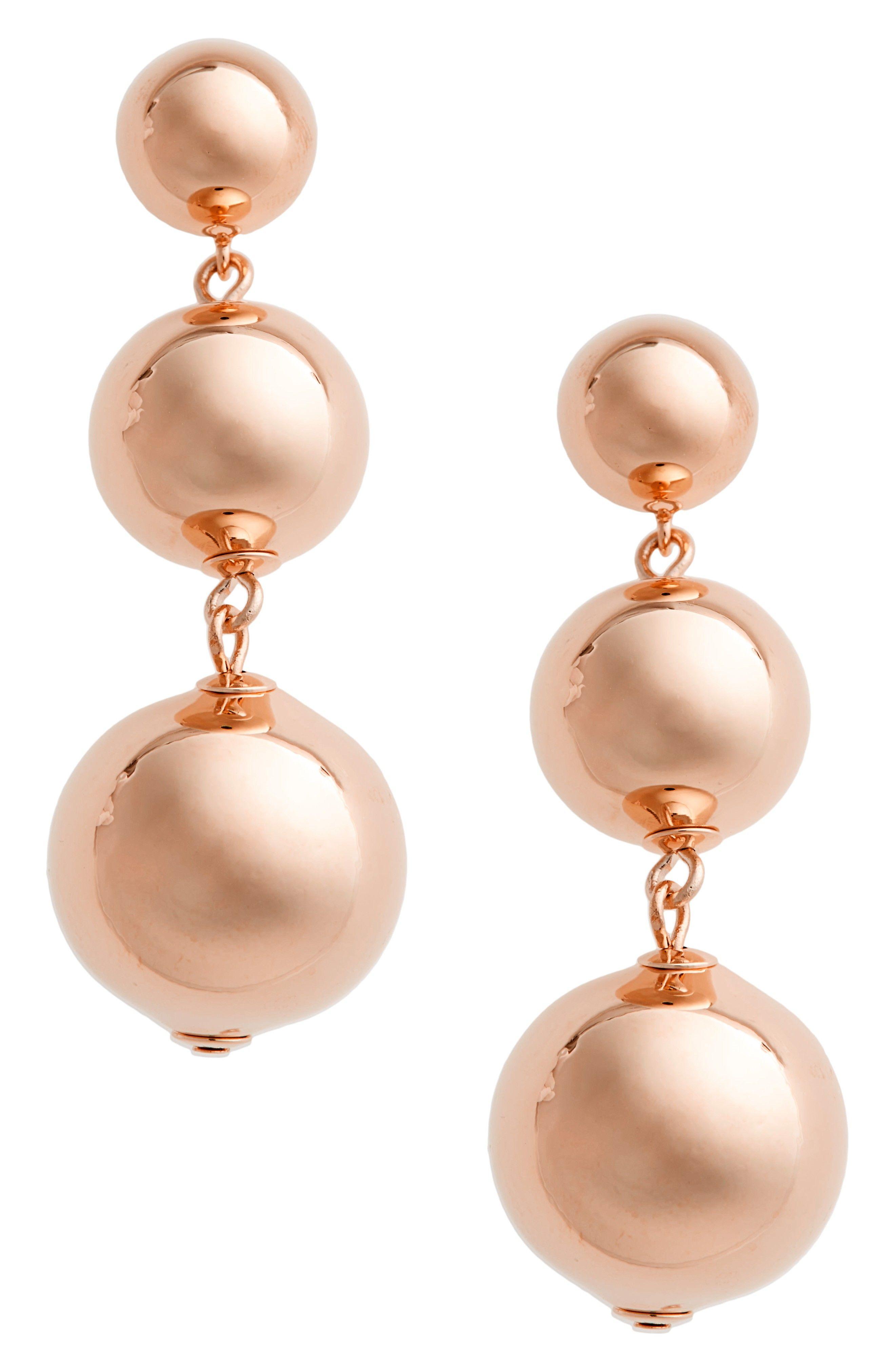 golden girl bauble drop earrings | JEWELS | Pinterest | Golden ...