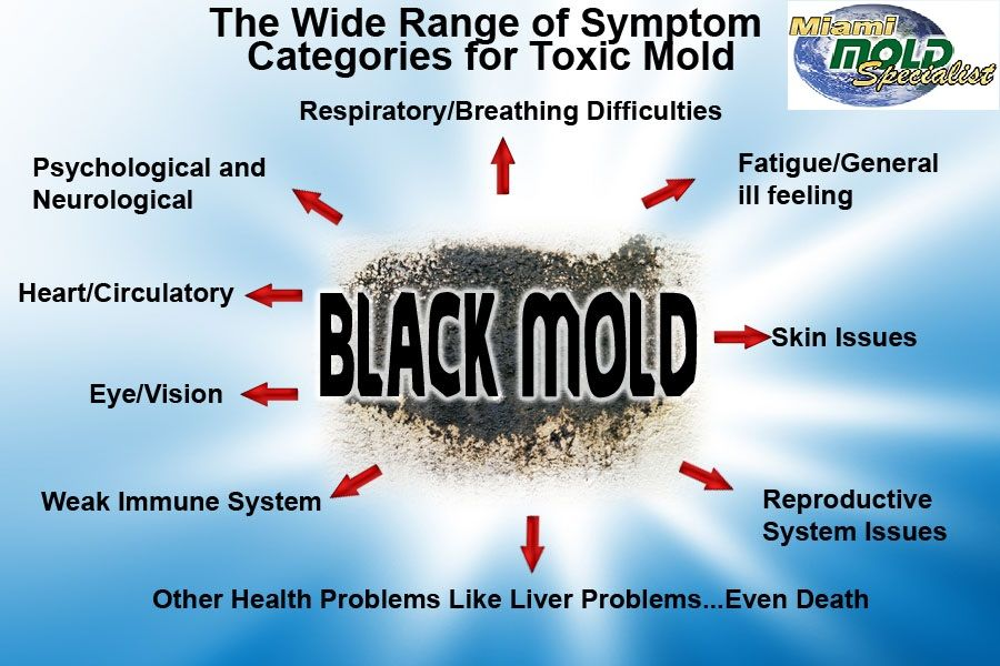 The Most Common Black Mold Toxic Symptoms And Health Effects Are Ociated With A Respiratory Response Chronic Coughing Sneezing