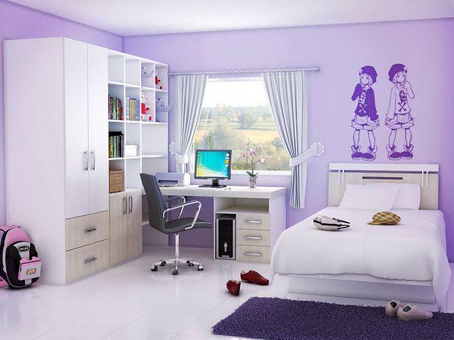 ides de dcoration de chambre dado fille chambre de fille - Chambre Ado Fille Moderne Violet