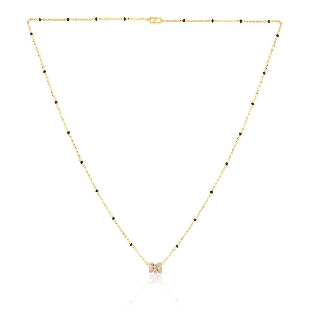 Malabar Gold Mangalsutra TRIMSNO020 in 2019 | Jewelry | Gold