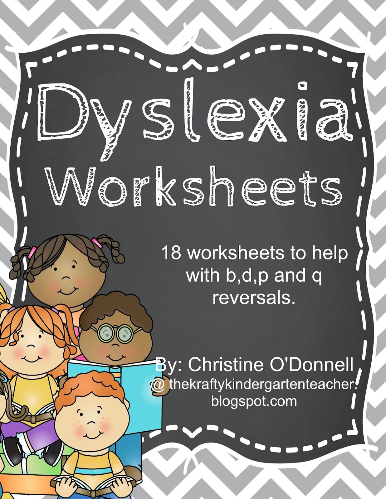 This set now contains 48 worksheets designed to help children practice the  common reversals of b,d,p and q.