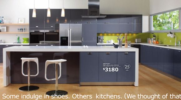 Best Akurum Kitchen With High Gloss Grey Abstrakt By Ikea 400 x 300