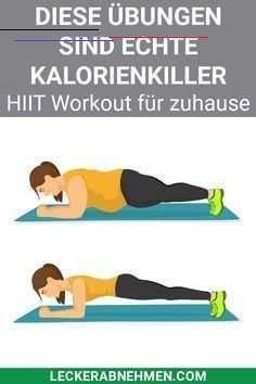 Die 10 besten HIIT Übungen für zu Hause - Mit Workout Plan Hier zeigen wir dir einen HIIT Trainingsp...