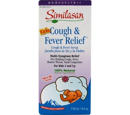 Similasan kids cough relief cough syrup, cough expectorant