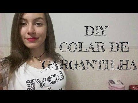 DIY- COLAR DE GARGANTILHA COM FONE DE OUVIDO | Unicornios Refinados - YouTube