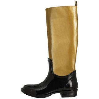 Women's Gold Rush rain boot
