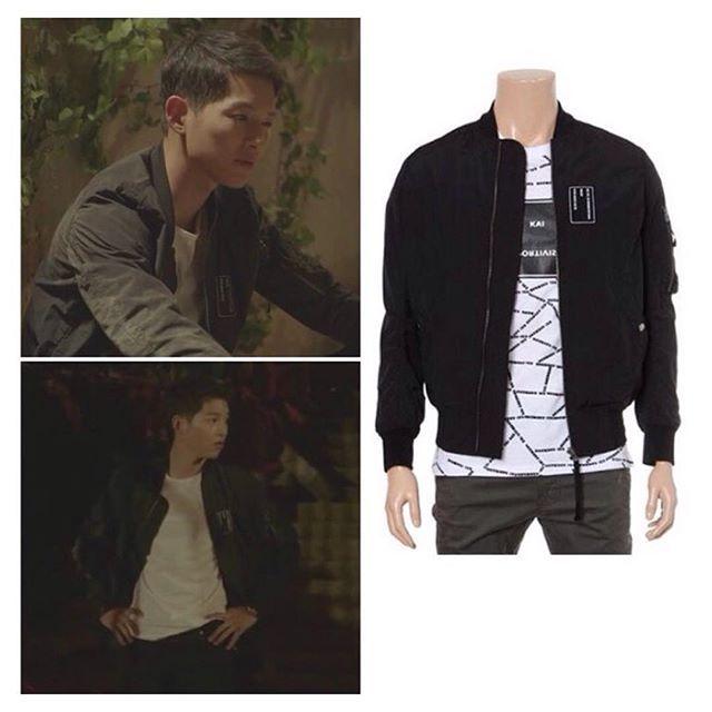 FASHION UPDATE] Song Joong Ki's jacket; Brand: KAI - Harga jaket ...