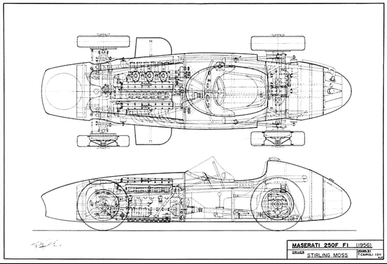 Maserati 250f Moss