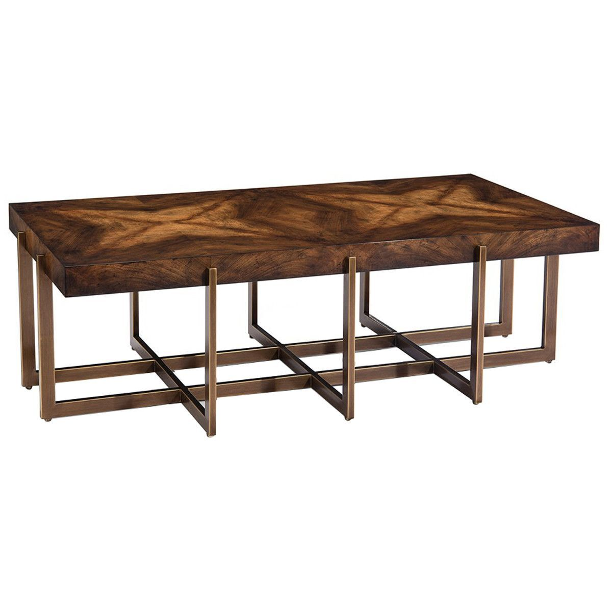 John Richard Hexham Cocktail Table Steel And Tables - John richard coffee table