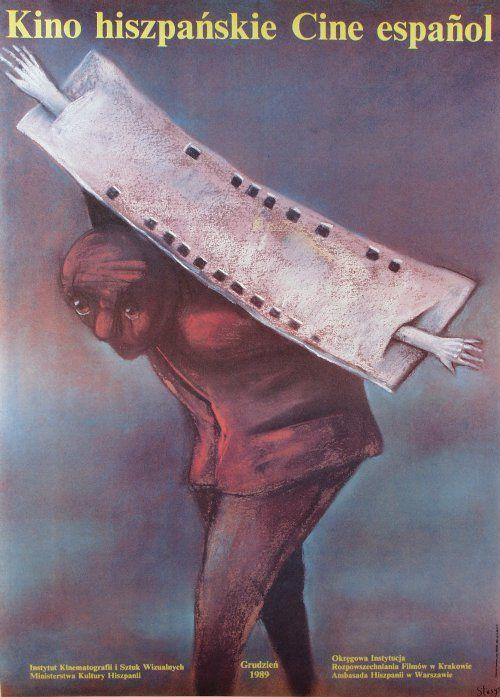 Cine Espanol, Polish Poster, Stasys