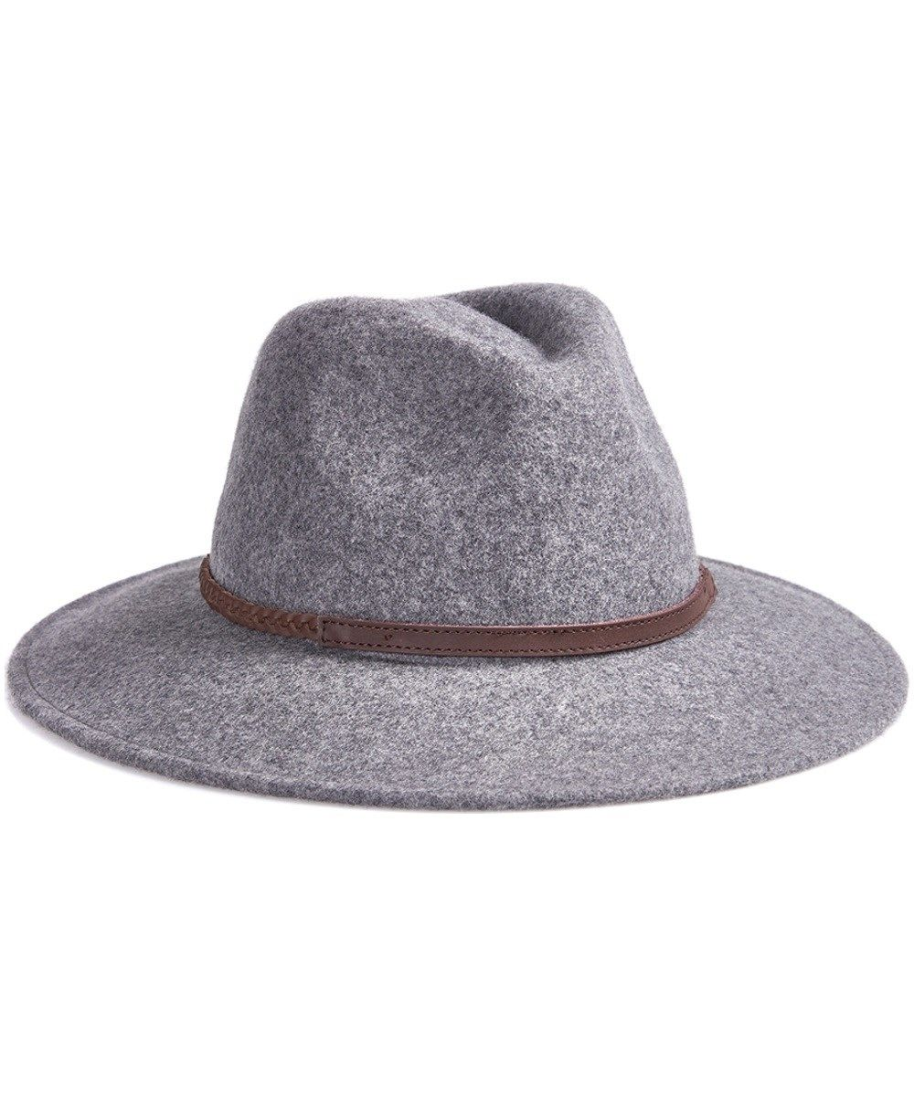 dac1091fc8 Barbour Tack Fedora Hat - Grey Melange size Large. Picture doesn t do it  justice