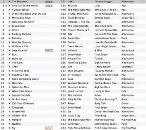 I need to update my running music playlist. Suggestions? by katharine