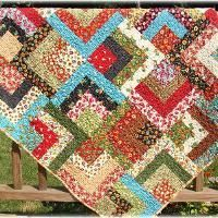 log cabin quilt using charm pack and jelly roll - Google Search ... : quilts using jelly rolls - Adamdwight.com