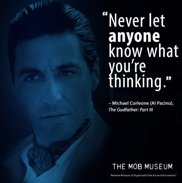 Michael Corleone Quote, The Godfather: Part III