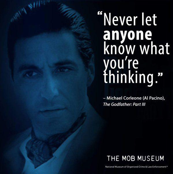 Michael Corleone Quote The Godfather Part Iii Zitate