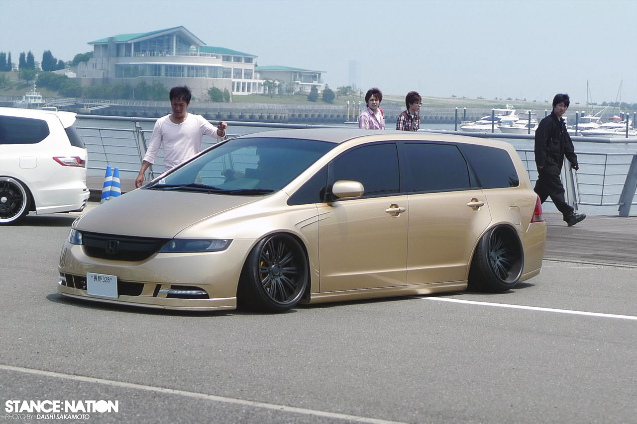 (JDM Honda Odyssey) If it can be slammed and rides good its mine!