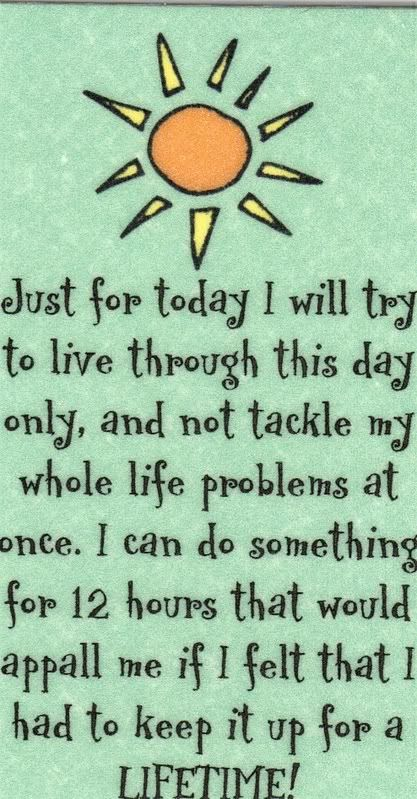 Just For Today So Many Addictions Pinterest Al Anon Just For Cool Just For Today Quotes