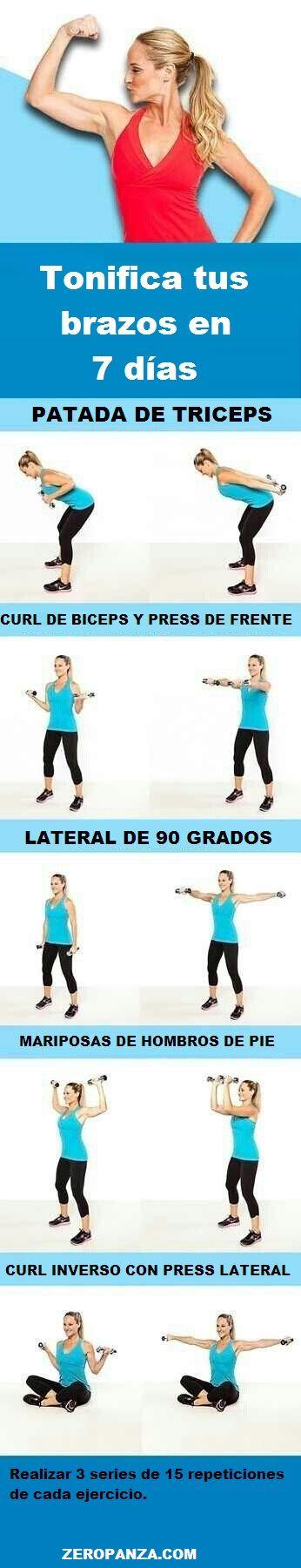 Suplementos para bajar de peso y tonificar los brazos