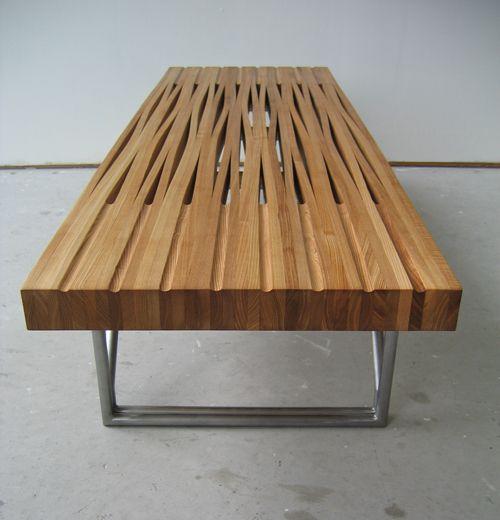 Steam bent table tube by bookhou lounge - Ausgefallene wohnzimmermobel ...