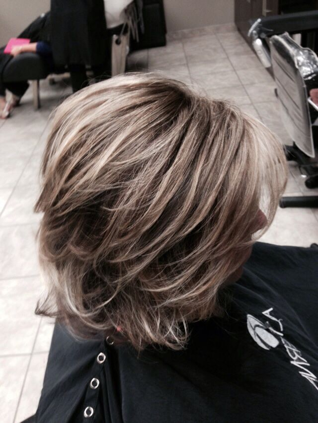 Highlights on fine hair to add depth and texture Hair by Amber Man ...