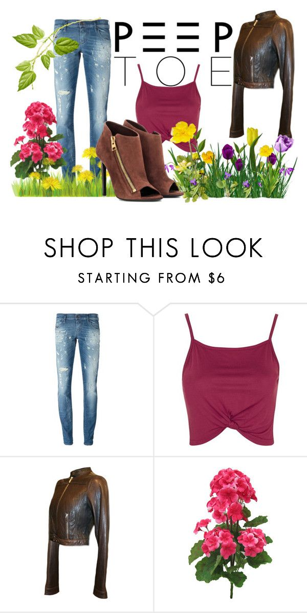 """""""Senza titolo #103"""" by hilary180491 ❤ liked on Polyvore featuring Diesel, Topshop and Tom Ford"""