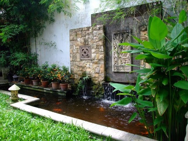 Koi Pond Winter Home Garden Air