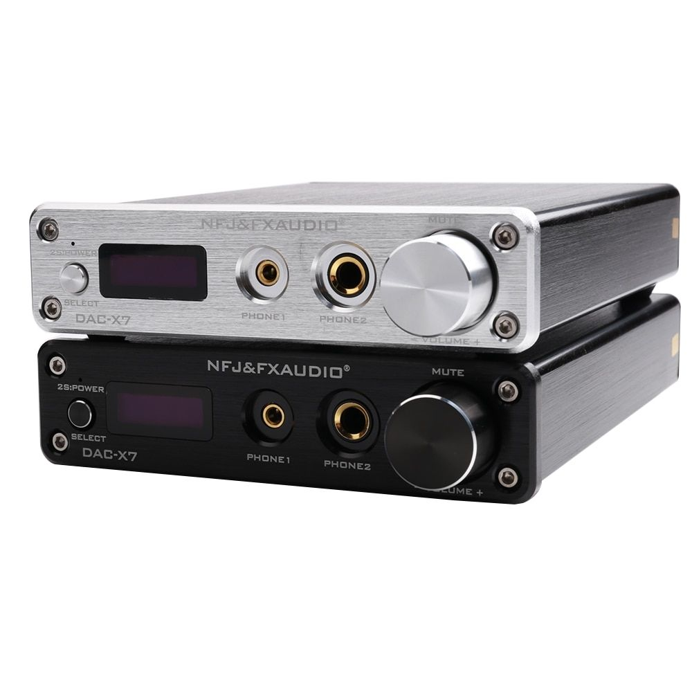DAC-X7 XMOS AK4490EQ USB DAC Decoder HiFi Audio Headphone Amplifier DSD256 OPA2604 TPA6120 USB / optical / coaxial / AUX input | www #audioheadphones