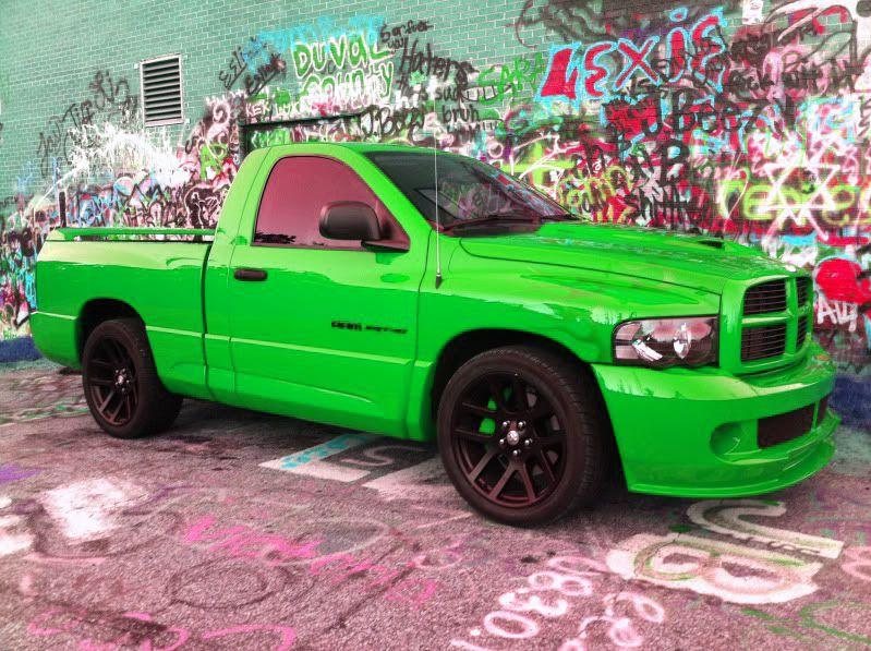 Green Dodge Ram Ram Srt 10 Dodge Ram Srt 10 Dodge Ram