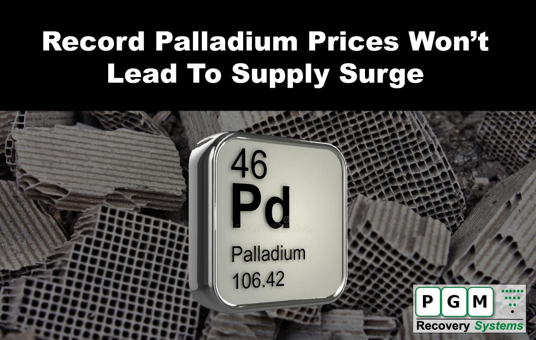 Recent record-high #palladium prices won't necessarily mean