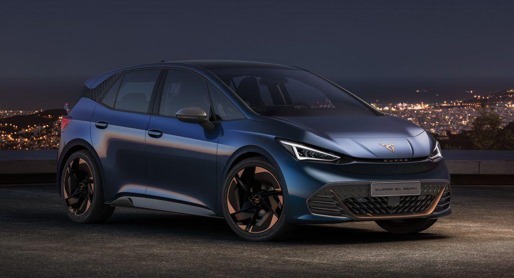 2021 Cupra El Born Revealed As Vw Group S Sportiest Electric Hatchback Yet In 2020 Hot Hatch Cars Uk Vw Group