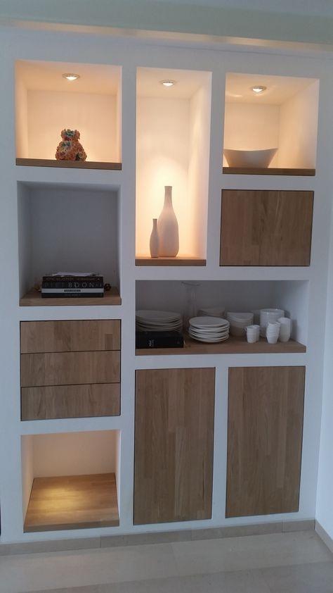 Let op kast verlichting - voor eetkamer kast | Keuken | Pinterest ...