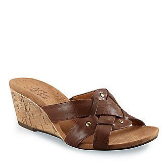 LifeStride Women's Nile Slides :: Women's Shoes :: Women's Casual Shoes :: FootSmart #dental #poker
