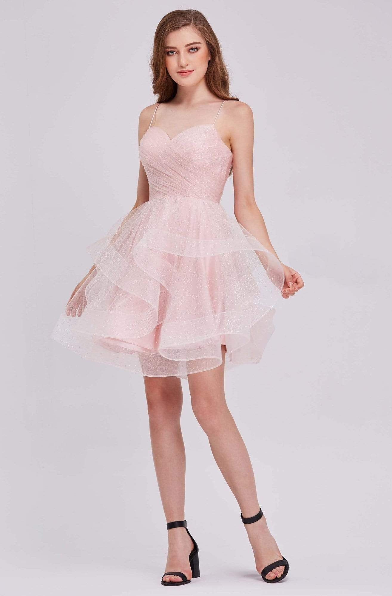 J Adore J16078 Tulle Sweetheart Cocktail Dress In 2021 Tulle Dress Short Pink Cocktail Dress Mitzvah Dresses [ 2000 x 1314 Pixel ]