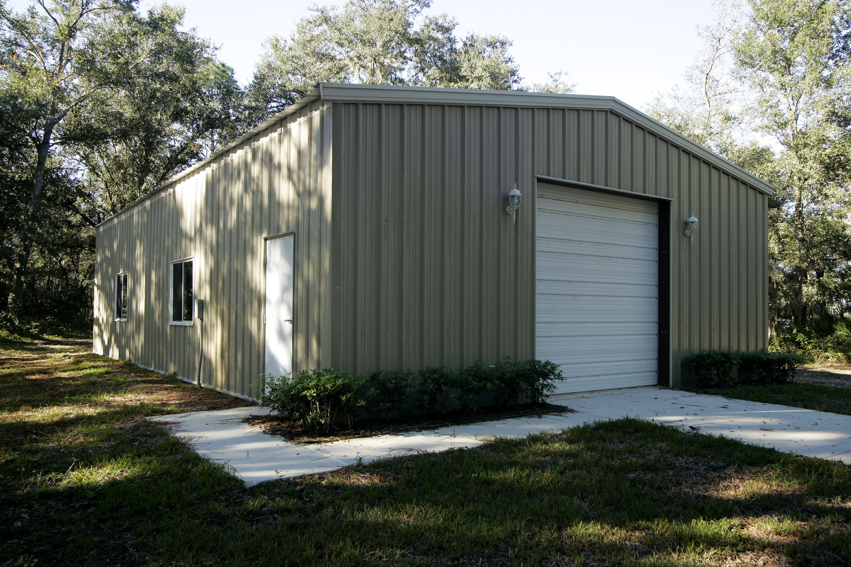 Garage Building Cost: Car Garage And Equipment Storage Building