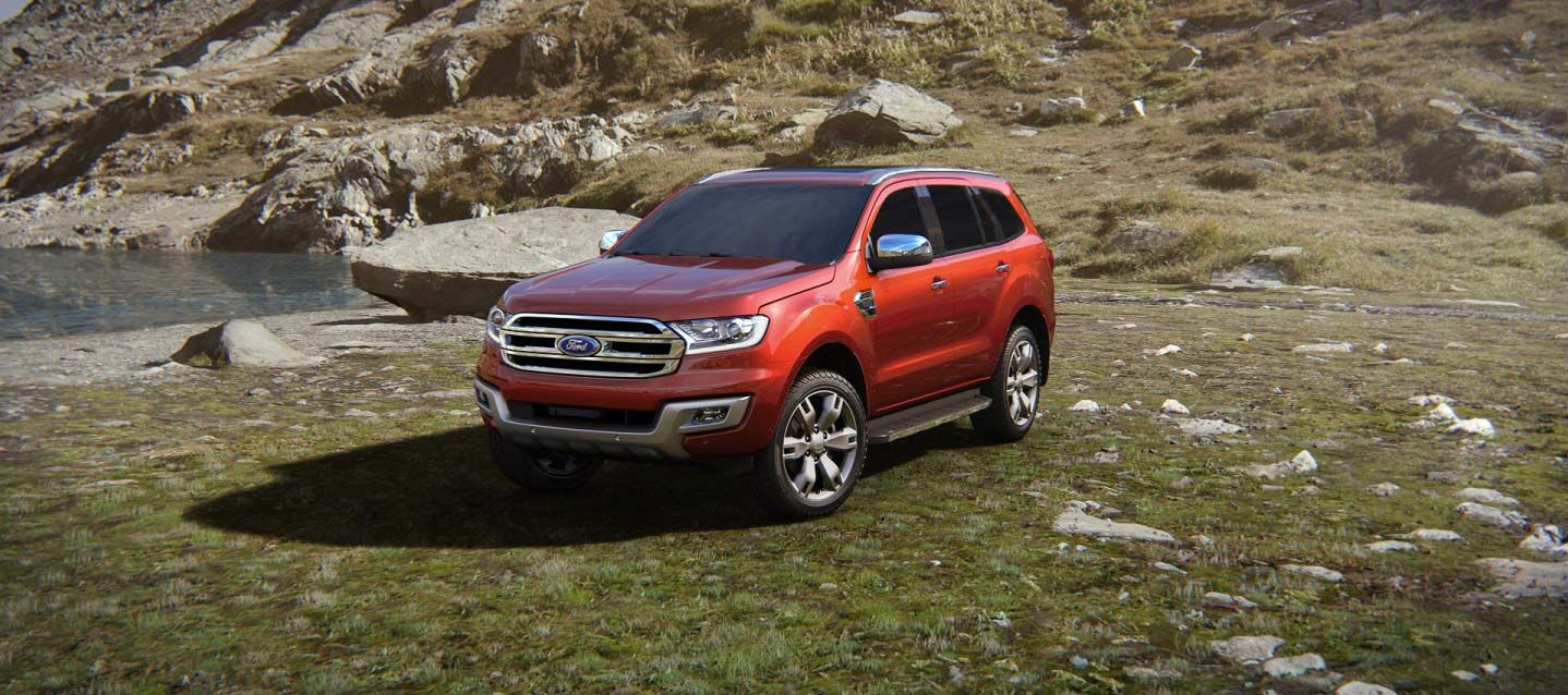 Ford south africa all new everest engineered for extraordinary