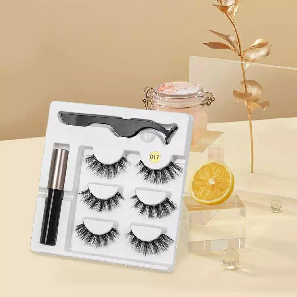 Magnetic Eyelashes with Magnetic Eyeliner    Avez-vous eu du mal à appliquer des cils avec de