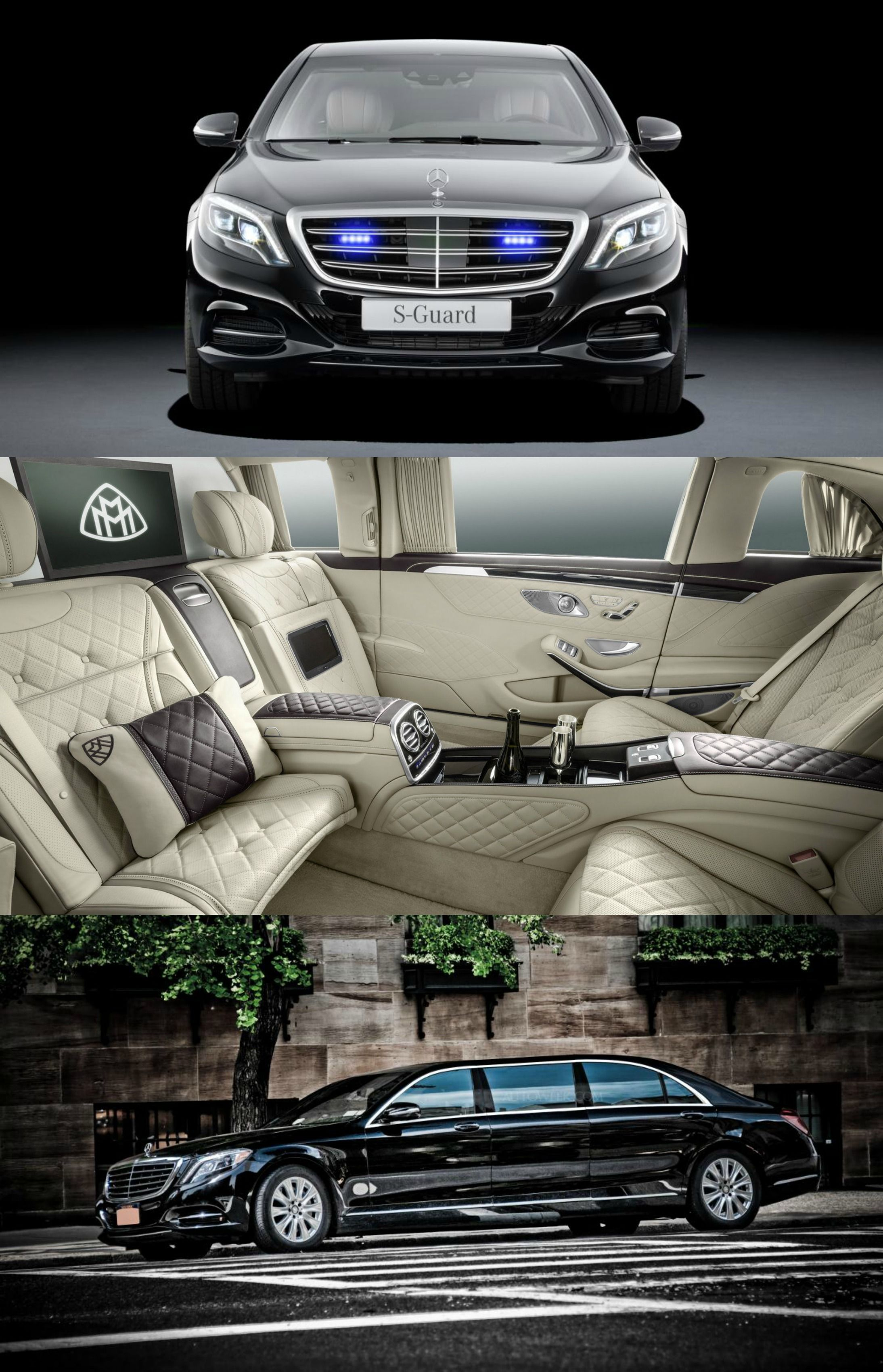 Your Luxury Is Protected MercedesMaybach Pullman Guard
