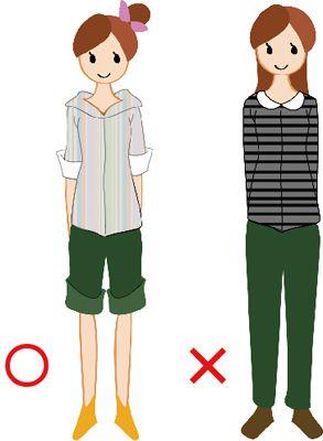 背 が 低い 女性