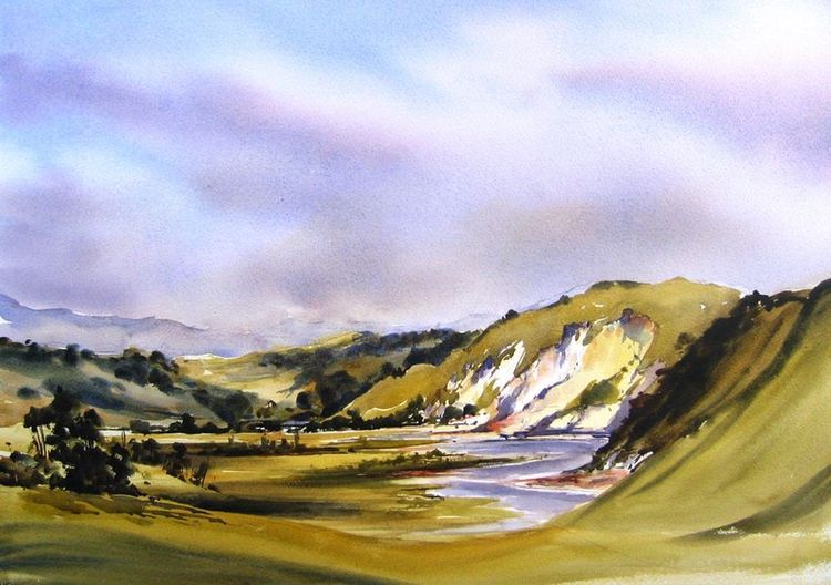Online Gallery Bernadette Parsons New Zealand Watercolour Artist