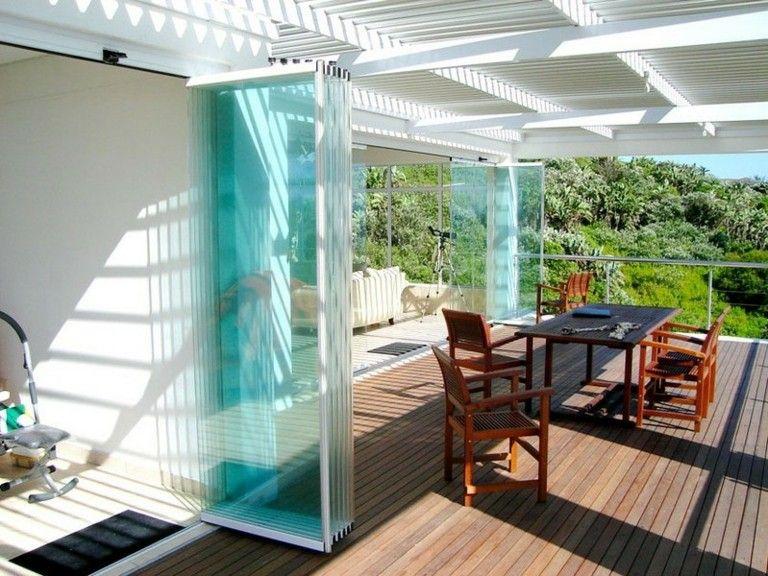 Terrazas modernas con decoraci n minimalista ideas casa - Techados para terrazas ...