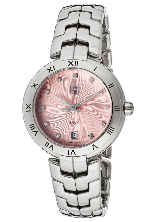 Tag Heuer Diamond Pink Watch http://edivewatches.com/product/tag-heuer-pink-diamond-watch-for-women/